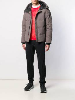 Canada Goose - quilted hooded jacket 865MB399553563600000
