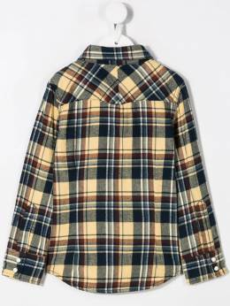 Dsquared2 Kids - checked chest pocket shirt 3NXD66VB955693330000