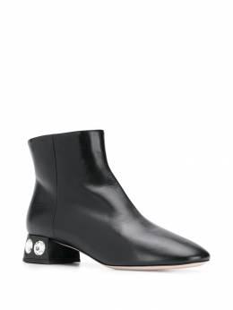 Miu Miu - crystal embellished ankle boots 50C69995595995000000
