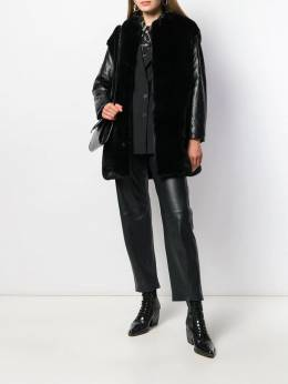 Pinko - faux fur boxy jacket 568Y5M3Z999550980500