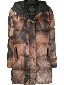 Mr & Mrs Italy - printed puffer coat XDJ69939533533500000