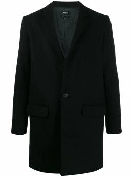 A.P.C. - single breasted wool coat JUH69365955963530000
