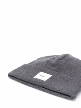 OAMC - шапка бини с нашивкой-логотипом 86306665603959650550