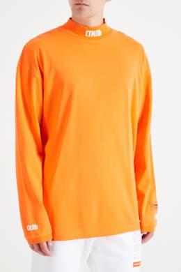 Оранжевая водолазка Heron Preston 2771148107