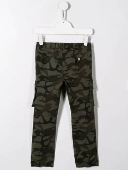 Il Gufo - camouflage cargo trousers PL096C56539556933600
