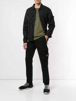 Stone Island - drawstring track trousers 56536995360333000000