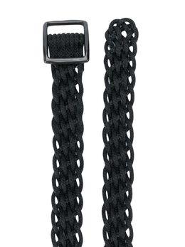 Yohji Yamamoto - adjustable braided belt 65965955989860000000