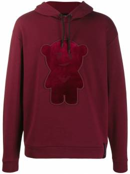 Emporio Armani - teddy embroidered hoodie MD89J36Z955009030000