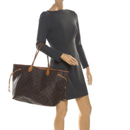 Louis Vuitton Monogram Canvas Neverfull GM Bag 219447