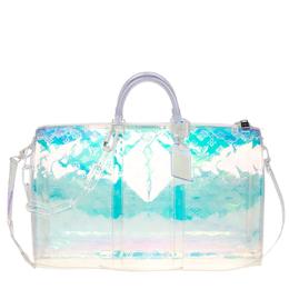 Louis Vuitton Monogram Prism Keepall Bandouliere 50 Bag 221076
