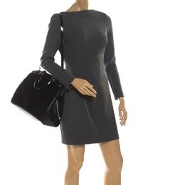 Louis Vuitton Black Electric Epi Leather Brea GM Bag 218034