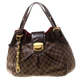 Louis Vuitton Damier Ebene Canvas Sistina GM Bag 217939
