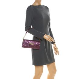 Louis Vuitton Violette Monogram Vernis Sunset Boulevard Bag 216044