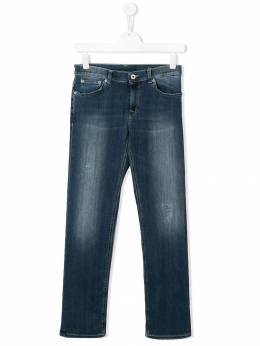 Dondup Kids - TEEN faded ripped jeans 96DS6990Z39955099950