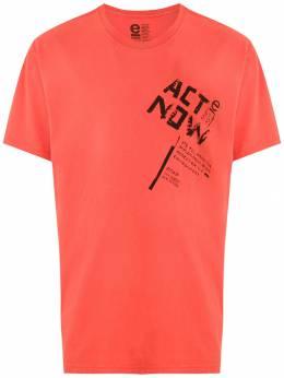 Osklen футболка с принтом Intervenção 59339