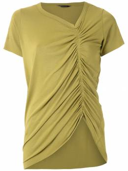 Uma | Raquel Davidowicz блузка Chapel со сборками TOPCHAPEL15SS20