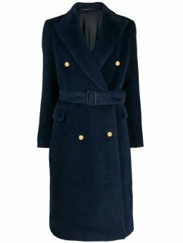 Tagliatore - double breasted midi coat ECD36009556389500000