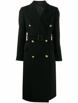 Tagliatore - double breasted midi coat EC356359559965500000