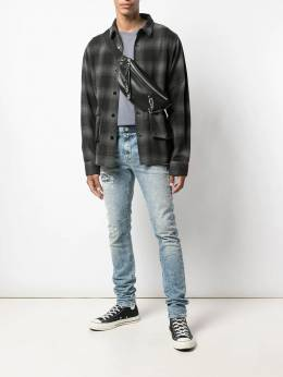 RtA - flannel shirt 3536960GREY955396300