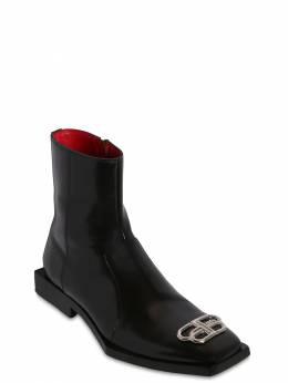 "Кожаные Сапоги ""bb"" 20мм Balenciaga 70IROW002-MTA4MQ2"