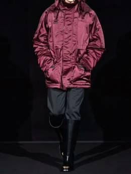 Incognito Shiny Nylon Parka Coat Balenciaga 70IROV024-NjE0MA2