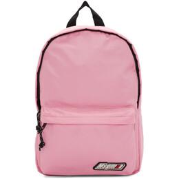 MSGM Pink Logo Backpack 192443F04200101GB