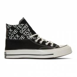 Converse Black Gore-Tex Chuck 70 Hi Sneakers 192799M23601805GB