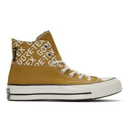 Converse Tan Gore-Tex Chuck 70 Hi Sneakers 192799M23601913GB
