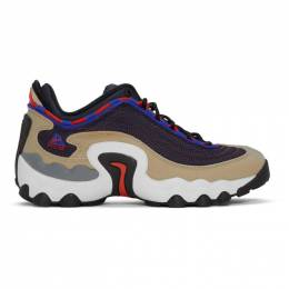 Nike Navy and Tan ACG Air Skarn Sneakers 192011M23722801GB