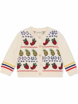 Gucci Kids - кардиган с вышивкой 963XKAVT950930630000