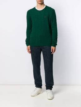 Polo Ralph Lauren - cable knit logo pullover 39955695503856000000