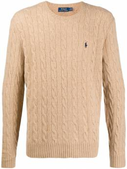 Polo Ralph Lauren - cable knit logo pullover 39955695503395000000