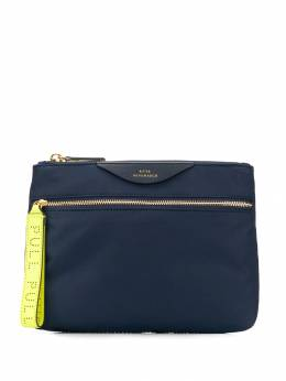 Anya Hindmarch - logo embossed pouch 96050938969953899030