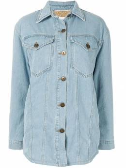 Nanushka - oversized denim jacket 96666095563399000000