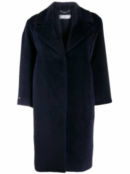 Peserico - textured mid-length coat 60863995953953930000