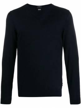 Boss Hugo Boss - v-neck plain jumper 38536953363950000000