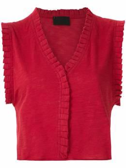 Andrea Bogosian - блузка Poncho с плиссировкой 30995308353000000000
