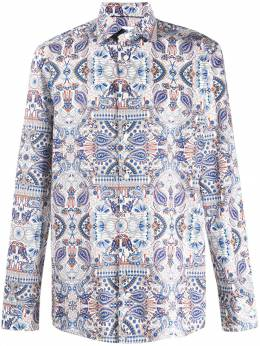 Eton - art deco pattern shirt 66699595505306000000