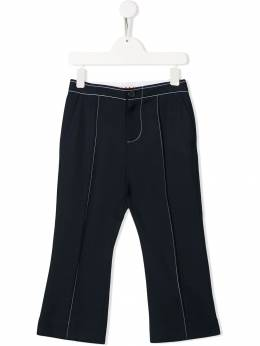 Marni Kids - contrast stitching trousers 0GEM66EP953593980000
