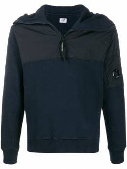 CP Company - half-zip fitted hoodie MSS995A665995M953690