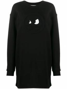 McQ Alexander McQueen - chester monster sweatshirt dress 659RNH35953306990000