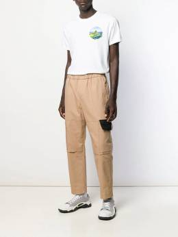 Kenzo - cropped cargo trousers 5PA0969RA95399689000