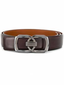 Santoni - logo engraved belt 66395359855000000000