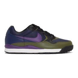 Nike Green and Navy Air Wildwood ACG Sneakers 192011M23722706GB