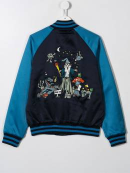 Stella McCartney Kids - TEEN embroidered bomber jacket 566SNK55953869890000