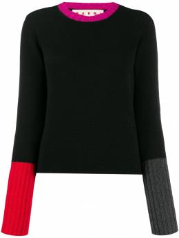 Marni - cashmere colour-block jumper D6958Q6FX38595563558