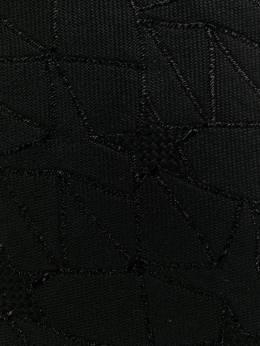 Saint Laurent - галстук с вышивкой 3955YC53955685550000