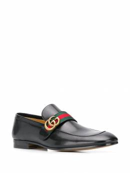 Gucci - logo plaque loafers 669D3VN6955096090000