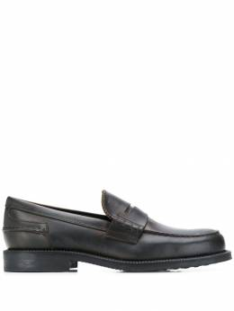 Tod's - penny bar monogrammed loafers 86B6BR36QAXV69095509