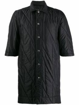 Rick Owens DRKSHDW - quilted button-up shirt 9F6099NZ953903380000